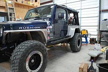Our Rubicon in our shop