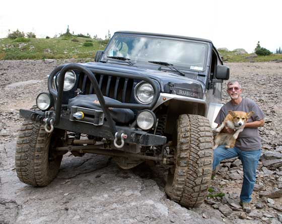 John, Sassy and the Jeep Rubicon