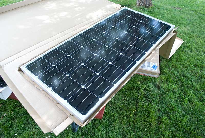 Solar Installation: Zamp Solar Installation