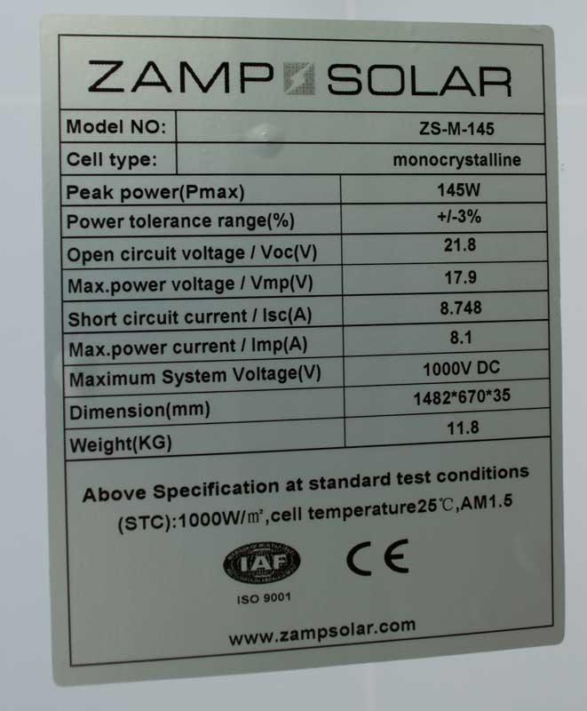 Zamp Solar Panel Install Page 6