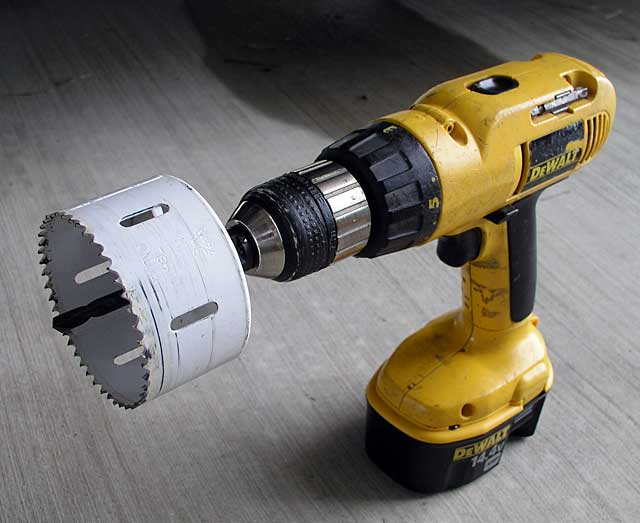 three inch hole saw