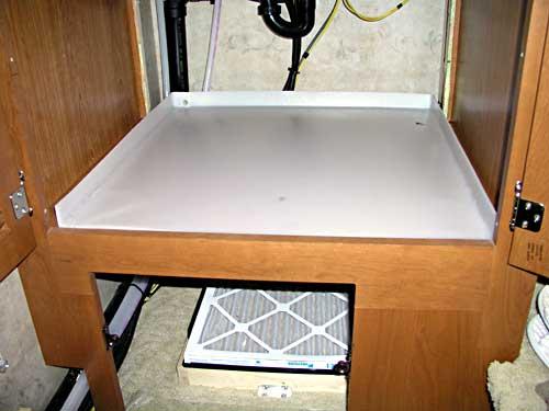 Pan Washer Washer Drain Pan Installation
