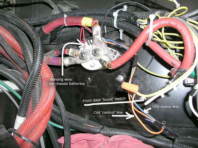 The Trombetta solenoid gets replaced